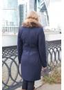 Пальто зимнее Понтик Синий