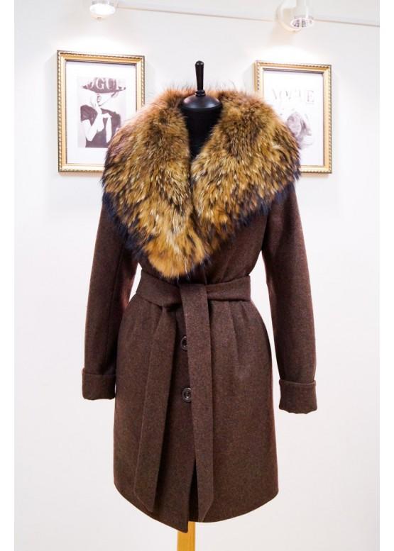 Пальто зимнее Понтик New Шоколад