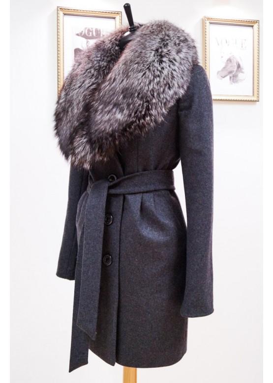 Пальто зимнее Понтик New Серый
