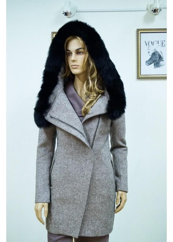 Пальто зимнее Риана Беж