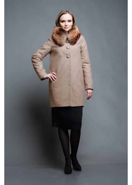 Пальто зимнее Терри Беж