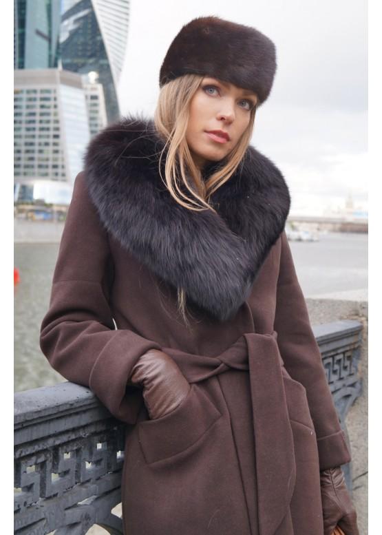 Пальто зимнее Винруж Браун